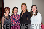 Ann Mangan, Mags Cronin, Leanne Cronin, and Maria O'Callaghan  at the Irish Cancer society Strictly Come Dancing in the INEC on Friday night