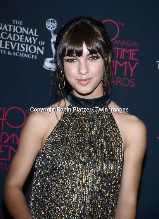 Denyse Tontz attends the 40th Annual Daytime Creative Arts Emmy Awards on June 14, 2013 at the Westin Bonaventure Hotel in Los Angeles, California.