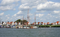 Nederland  Amsterdam Durgerdam 2019. Dijkhuizen in Durgerdam.   Foto Berlinda van Dam / Hollandse Hoogte