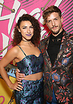 Lisa Finegold and Tanner Ray Wilson attends the Opening Night Performance After Party for  'Head Over Heels' at Gustavino's  on July 26, 2018 in New York City.