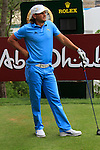 Johan Edfors waits to tee off the 10th tee during Thusday Day 1 of the Abu Dhabi HSBC Golf Championship, 20th January 2011..(Picture Eoin Clarke/www.golffile.ie)