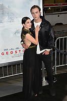 Niki Koss &amp; Sterling Beaumon at the premiere for &quot;Geostorm&quot; at TCL Chinese Theatre, Hollywood. Los Angeles, USA 16 October  2017<br /> Picture: Paul Smith/Featureflash/SilverHub 0208 004 5359 sales@silverhubmedia.com