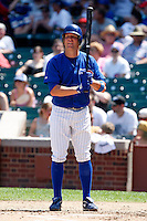 August 9, 2009:  Matt Craig of the Iowa Cubs during a game at Wrigley Field in Chicago, IL.  Iowa is the Pacific Coast League Triple-A affiliate of the Chicago Cubs.  Photo By Mike Janes/Four Seam Images