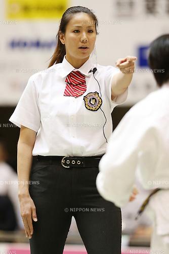 Umpire,<br /> September 13, 2014 - Judo : <br /> All Japan Juior Judo Championships <br /> at Saitama Kenritsu Budokan, Saitama, Japan. <br /> (Photo by Shingo Ito/AFLO SPORT) [1195]