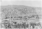 Elevated view of Dolores in early 1900s looking north.<br /> RGS  Dolores, CO  ca. 1902-1904
