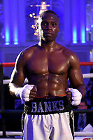 Nathanael Wilson defeats Dylan Draper during a Boxing Show at The Devere Grand Connaught Rooms on 9th May 2019