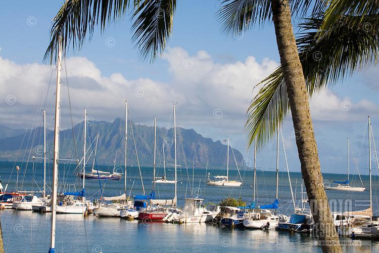 Kaneohe Yacht Club, windward Oahu, Hawaii