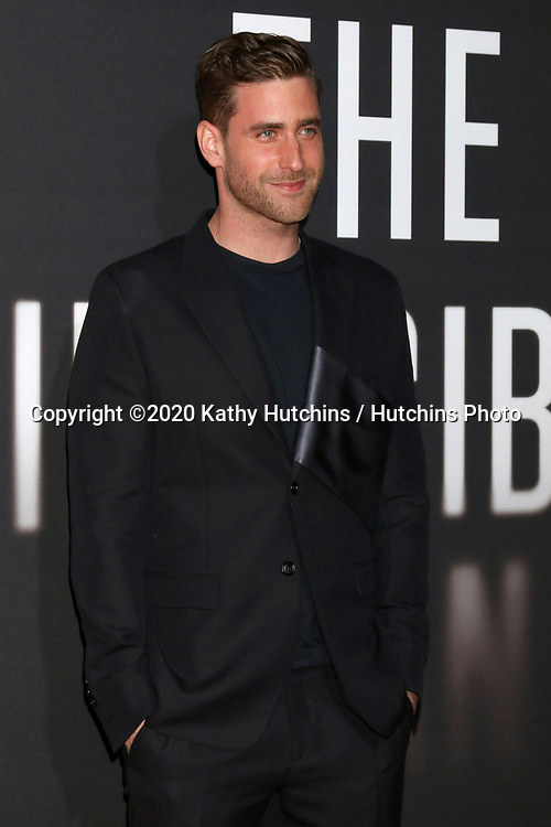 """LOS ANGELES - FEB 24:  Oliver Jackson-Cohe at the """"The Invisible Man"""" Premiere at the TCL Chinese Theater IMAX on February 24, 2020 in Los Angeles, CA"""