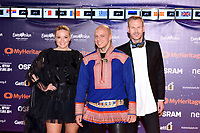 KEiiNO (Norway)<br /> Eurovision Song Contest, Opening Ceremony, Tel Aviv, Israel - 12 May 2019.<br /> **Not for sales in Russia or FSU**<br /> CAP/PER/EN<br /> &copy;EN/PER/CapitalPictures