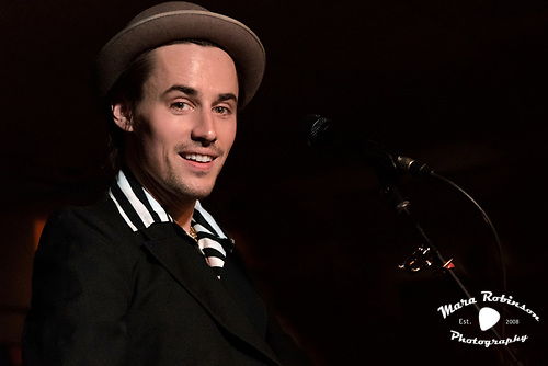 Reeve Carney, by Akron and Cleveland Music Photographer, Portrait Photographer and Event Photographer Mara Robinson, Mara Robinson Photography. At Beachland Ballroom and Tavern.