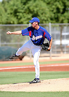 Michael Main / Texas Rangers 2008 Instructional League..Photo by:  Bill Mitchell/Four Seam Images