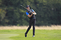 Sebastian Heisele (GER) on the 2nd fairway during Round 1 of the Bridgestone Challenge 2017 at the Luton Hoo Hotel Golf &amp; Spa, Luton, Bedfordshire, England. 07/09/2017<br /> Picture: Golffile | Thos Caffrey<br /> <br /> <br /> All photo usage must carry mandatory copyright credit     (&copy; Golffile | Thos Caffrey)