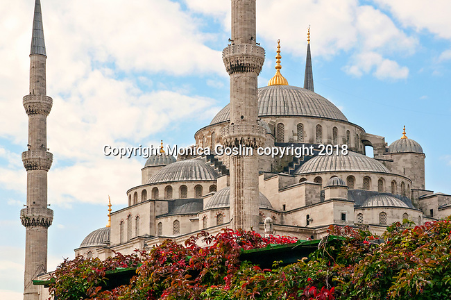 Sultan Ahmet Mosque, better known as the Blue Mosque, built between 1609 and 1616