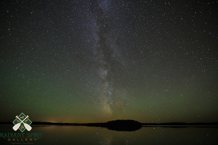 &quot;Milky Way and Airglow&quot;<br />