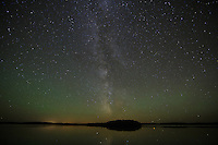 """Milky Way and Airglow""<br />