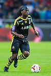 Solna 2013-08-06 Football Friendly Game , AIK - Manchester United FC :  <br /> AIK 9 Martin Kayongo Mutumba i aktion <br /> (Foto: Kenta J&ouml;nsson / Pic-Agency.com) Nyckelord:  portr&auml;tt portrait