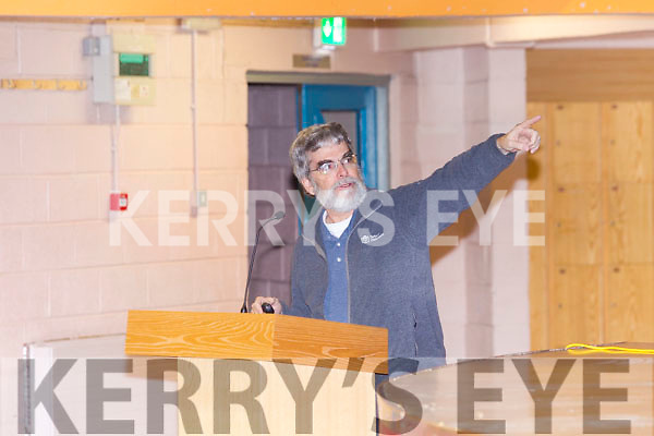 The Pope's Astronomer, Bro. Guy Consolmagno, S.J., Director of the Vatican Observatory giving a talk on Tuesday at Colaiste na Sceilge.
