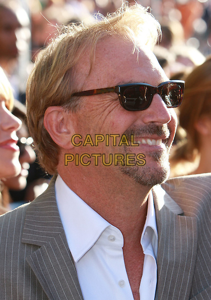"""KEVIN COSTNER .""""Swing Vote"""" World Premiere held at the El Capitan Theatre, Hollywood, California, USA, .24 July 2008..portrait headshot beard facial hair sunglasses profile .CAP/ADM/`CH.©Charles Harris/Admedia/Capital PIctures"""