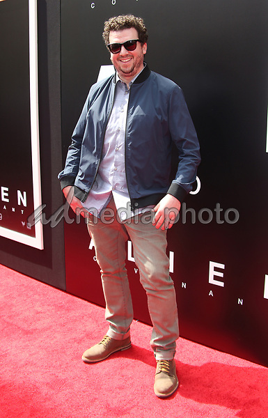 17 May 2017 - Hollywood, California - Danny McBride. Sir Ridley Scott Hand And Footprint Ceremony. Photo Credit: AdMedia
