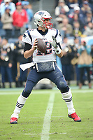 New England Patriots QB Tom Brady during an NFL game between the Patriots and Titans . (Michael Zito/AP for Panini