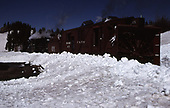 C&amp;TS rotary snowplow #OY and train powered by #484 and #488 on Cumbres Pass.<br /> C&amp;TS  Cumbres Pass, CO
