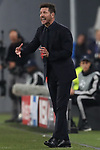 Diego Simeone Head coach of Atletico Madrid during the UEFA Champions League match at Juventus Stadium, Turin. Picture date: 26th November 2019. Picture credit should read: Jonathan Moscrop/Sportimage