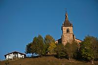 Europe/Espagne/Pays Basque/Guipuscoa/Goierri/Zerain: L'église Nuestra Señora de la Asunción