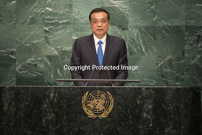 Continuation of the general debate [item 8] Address by His Excellency Li Keqiang, Premier of the State Council of the People&rsquo;s Republic of China <br /> <br /> <br /> General Assembly Seventy-first session 10th plenary meeting<br /> General Debate