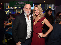 """HOLLYWOOD - SEPTEMBER 24: Chuck Saftler, Kaitlin Olson attend the post-party at Dave & Busters following the  premiere of FXX's """"It's Always Sunny in Philadelphia"""" Season 14 on September 24, 2019 in Hollywood, California. (Photo by Stewart Cook/FXX/PictureGroup)"""