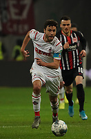 Jonas Hector (1. FC Koeln) - 18.12.2019: Eintracht Frankfurt vs. 1. FC Koeln, Commerzbank Arena, 16. Spieltag<br /> DISCLAIMER: DFL regulations prohibit any use of photographs as image sequences and/or quasi-video.