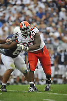 12 September 2009:  Syracuse DT Arthur Jones (97)..The Penn State Nittany Lions defeated the Syracuse Orangemen 28-7 at Beaver Stadium in State College, PA..