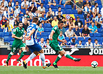 Gabriel in action during La Liga Game between RCD Espanyol agaisnt Leganes at RCDE Stadium