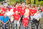 FUNDRAISING: Some of the walkers taking part in the MS Ireland, Tralee Branch annual fundraising sponsored walk, pictured at the starting point outside the Meadowlands Hotel on Sunday afternoon.   Copyright Kerry's Eye 2008