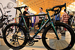 Spoon Customs stand at Bespoked 2018 UK handmade bicycle show held at Brunel's Old Station & Engine Shed, Bristol, England. 21st April 2018.<br /> Picture: Eoin Clarke | Cyclefile<br /> <br /> <br /> All photos usage must carry mandatory copyright credit (© Cyclefile | Eoin Clarke)