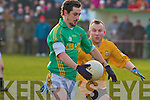 Finuge's Paul Galvin and Listowel's Shane Quinn (captain).