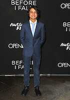 www.acepixs.com<br /> <br /> March 1 2017, LA<br /> <br /> Rio Mangini arriving at the premiere of 'Before I Fall' at the Directors Guild Of America on March 1, 2017 in Los Angeles, California<br /> <br /> By Line: Peter West/ACE Pictures<br /> <br /> <br /> ACE Pictures Inc<br /> Tel: 6467670430<br /> Email: info@acepixs.com<br /> www.acepixs.com