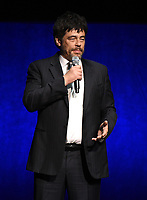 LAS VEGAS, NV - APRIL 23: Benicio del Toro onstage at the Sony Pictures Entertainment presentation at CinemaCon 2018 at The Colosseum at Caesars Palace on April 23, 2018 in Las Vegas, Nevada. (Photo by Frank Micelotta/PictureGroup)