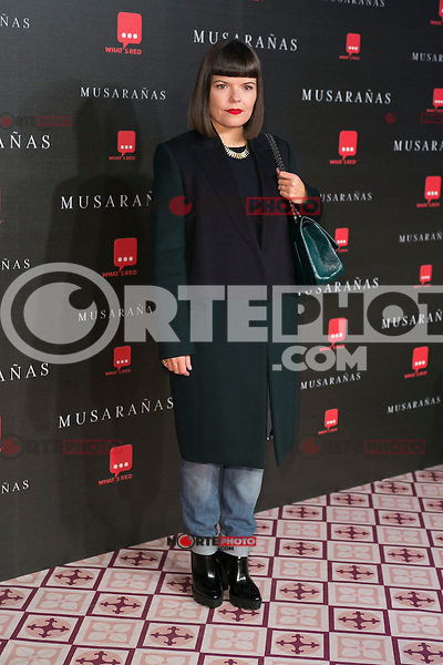 "Laura Caballero attend the Premiere of the movie ""Musaranas"" in Madrid, Spain. December 17, 2014. (ALTERPHOTOS/Carlos Dafonte) /NortePhoto /NortePhoto.com"