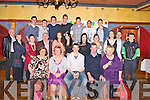 Shane Hickey, Tullig, Spa, Killarney, pictured with his family and friends as he celebrated his 21st birthday in the Killarney Avenue hotel on Saturday night.