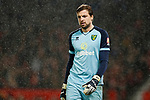 Tim Krul of Norwich City during the Premier League match at Old Trafford, Manchester. Picture date: 11th January 2020. Picture credit should read: James Wilson/Sportimage