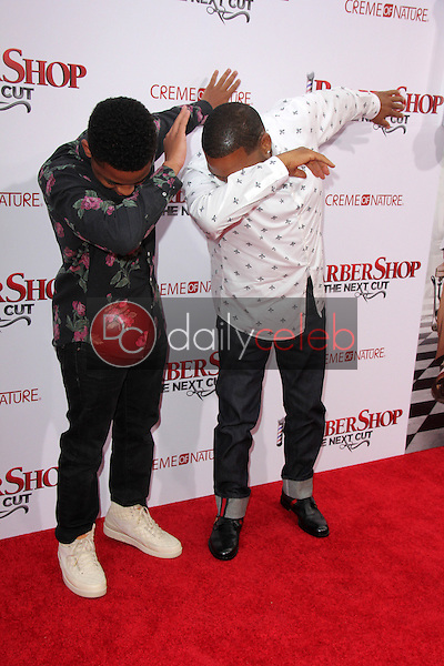 Anthonly Anderson, son<br />