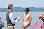Hudson River Wedding..Joelyn and Colin's gorgeous ceremony in Irvington's river front park.