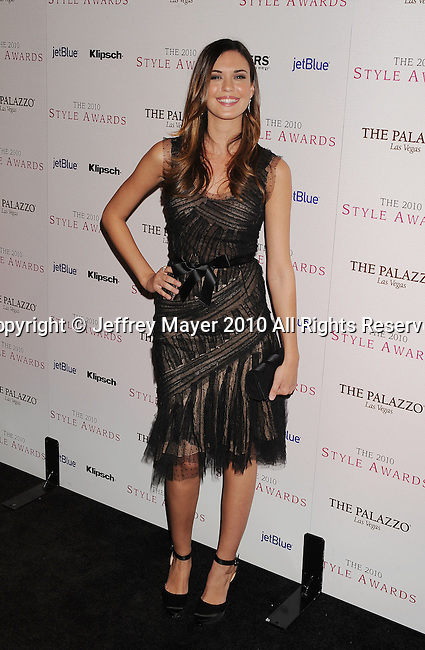 LOS ANGELES, CA. - December 12: Odette Yustman arrives at the 2010 Hollywood Style Awards at The Billy Wilder Theater at the Hammer Museum on December 12, 2010 in Los Angeles, California.