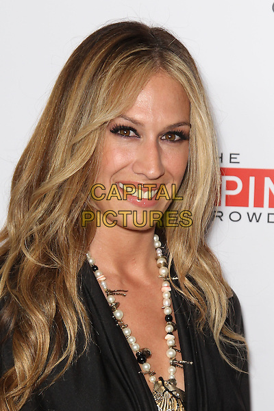 AJ CELI.Season Five Premiere of 'Keeping Up With the Kardashians' and the Series Premiere of 'The Spin Crowd,' at Trousdale nightclub, West Hollywood, CA, USA. .August 19th, 2010.headshot portrait black beads necklace pearls  .CAP/CEL .©CelPh/Capital Pictures