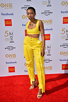 LOS ANGELES, CA. March 30, 2019: Carrie Bernans at the 50th NAACP Image Awards.<br /> Picture: Paul Smith/Featureflash