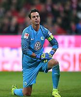 Fussball  1. Bundesliga  Saison 2016/2017  14. Spieltag  FC Bayern Muenchen - VfL Wolfsburg    10.12.2016 Torwart Diego Benaglio (VfL Wolfsburg)