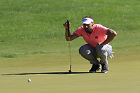 Joost Luiten (NED) on the 3rd green during Saturday's Round 3 of the 2018 Turkish Airlines Open hosted by Regnum Carya Golf &amp; Spa Resort, Antalya, Turkey. 3rd November 2018.<br /> Picture: Eoin Clarke | Golffile<br /> <br /> <br /> All photos usage must carry mandatory copyright credit (&copy; Golffile | Eoin Clarke)