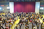 ORCHESTRA: The RTE Symphony Orchestra performing to a large crowd at Tralee Sports & Leisure Centre on Thursday night..