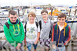 Pictured at the Fenit regatta on Sunday were l-r: Jack Linnane, Henry Downing, Sean Tansley and Sean Higgins.