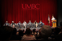 150727 Dr. Mellow at UMBC with Sec. Duncan